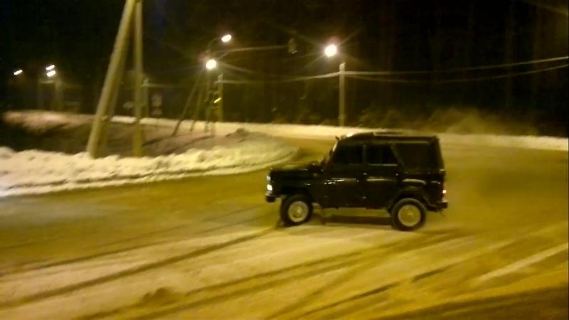 Обкатка нового УАЗа mp4