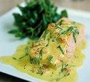 Горбуша запеченная в сливках: идеальный рыбный ужин!