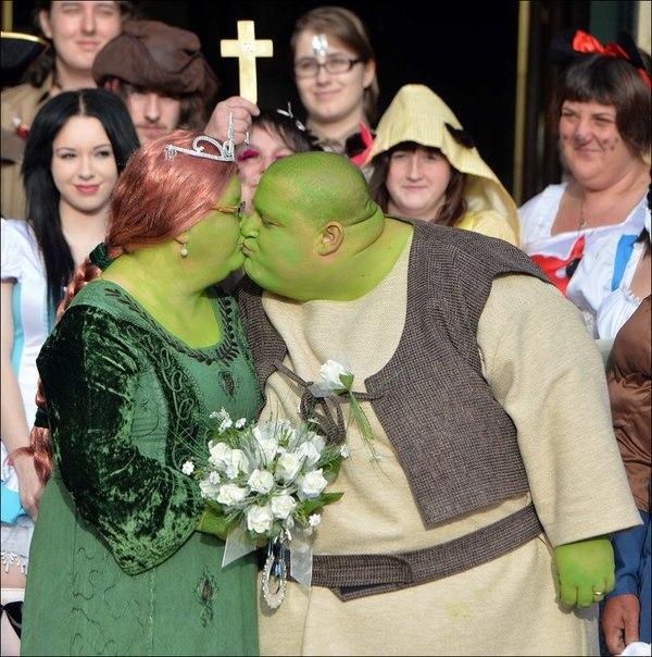 Самая оригинальная свадьба когда у людей все отлично с чувством юмора....