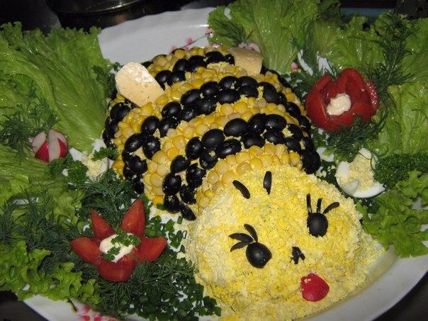 фото детских салатов