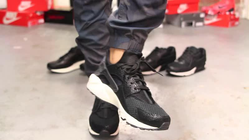 Женские кроссовки Nike Air Huarache Белоснежные