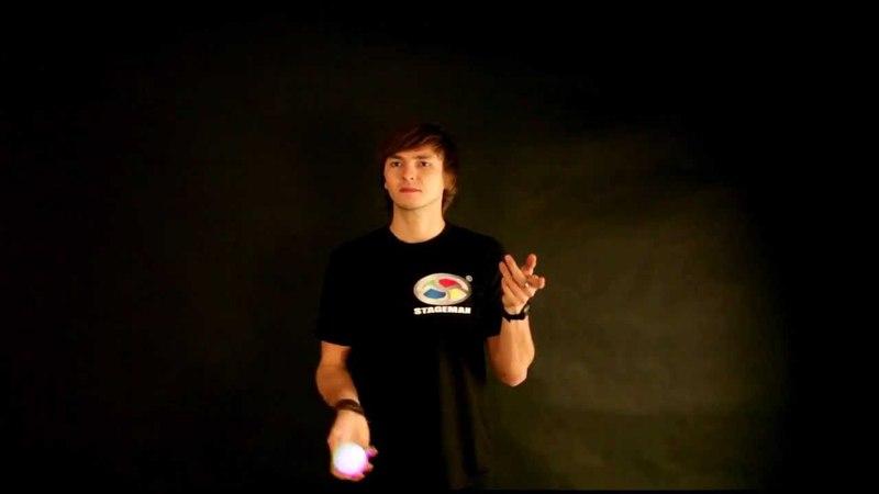 Kurs Żonglerki - Lekcja 1 - Start z jedną piłką