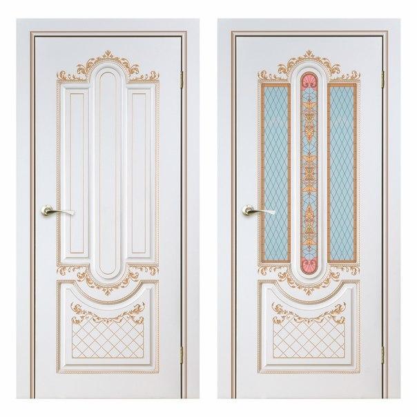 Межкомнатная дверь АЛЕКСАНДРИЯ - 2 ( Крем)