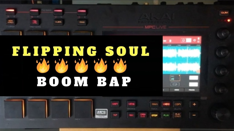 Flipping Queen Of Soul | Boom Bap Beat Making With MPC Live | Chopping Block