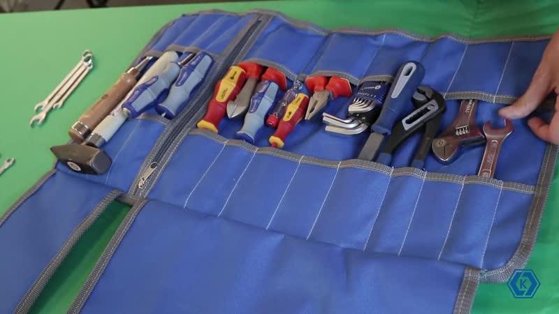 Сумка скручивающаяся для хранения инструментов