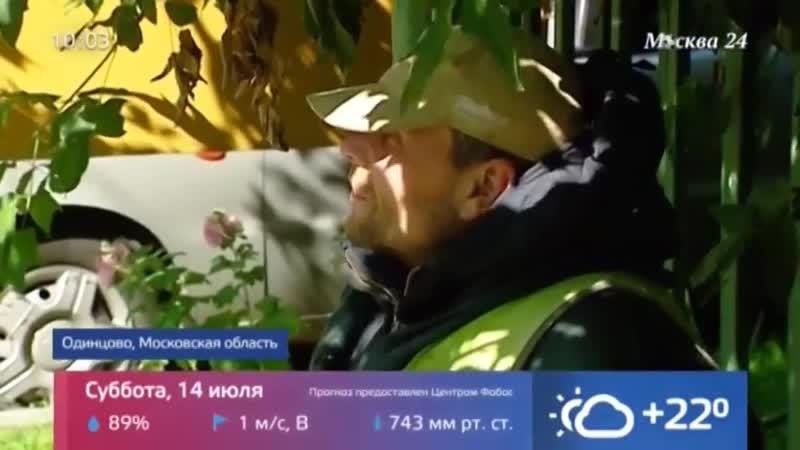 В Одинцово жители ополчились на поселившегося на лавочке мужчину