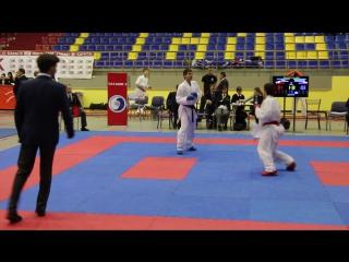 ЧСЗФО #каратэ 2017, -60 Карпов В., полуфинал ч.2