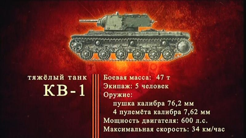 Оружие Победы. Тяжелый танк КВ-1
