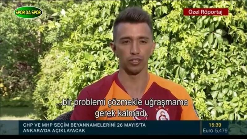 Galatasarayın Yıldız İsmi Fernando Muslera Özel Röportajı 22 Mayıs 2018