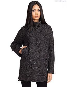фото прямого покроя пальто