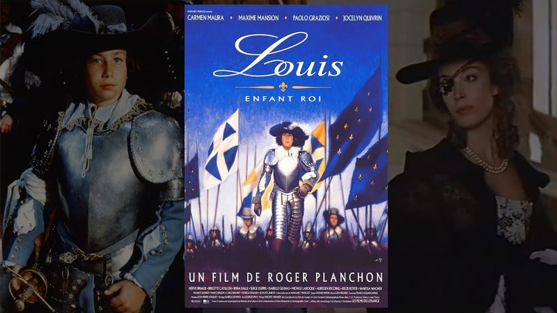 Луи, король - дитя. ЛЮБОВЬ, интриги, война - история Короля-Солнце. Исторический фильм, Драма