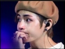 BTS V cried because he couldn't sing as well as he expected