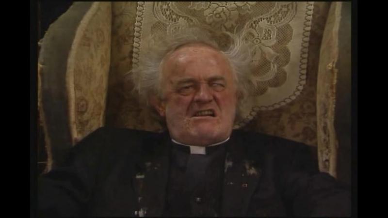 Отец Кракен и заноза в заднице. (коротыш).(Отрывок из сериала Отец Тед).