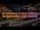 International Student Guidance - Researching Your Course