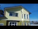 Антенны SAT и DVBT2 на фасаде дома_Самоотлор