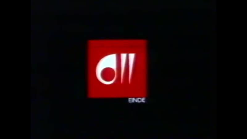 Программа передач и конец эфира (BRT TV2 [Бельгия], 05.09.1980)