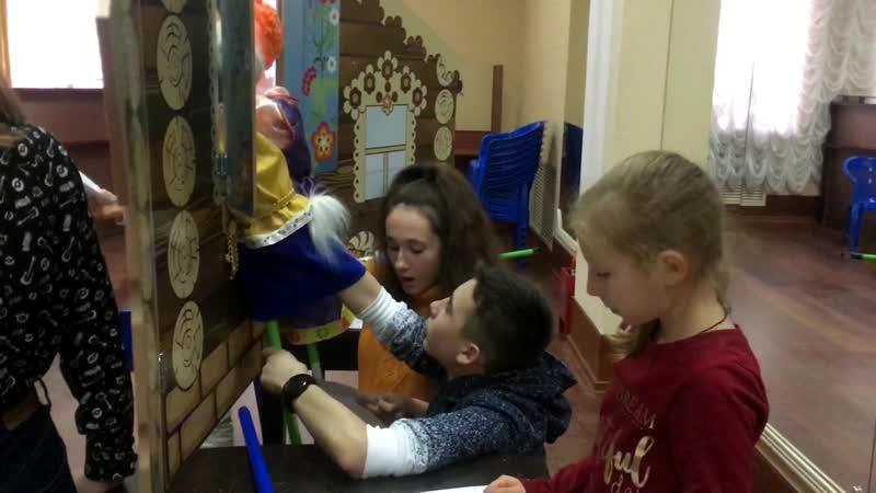 Репетиции концерта Петрушка собирает друзей. Детский театр Молоко
