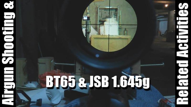 JSB Exact Jumbo Monster 1.645g, Hatsan BT65