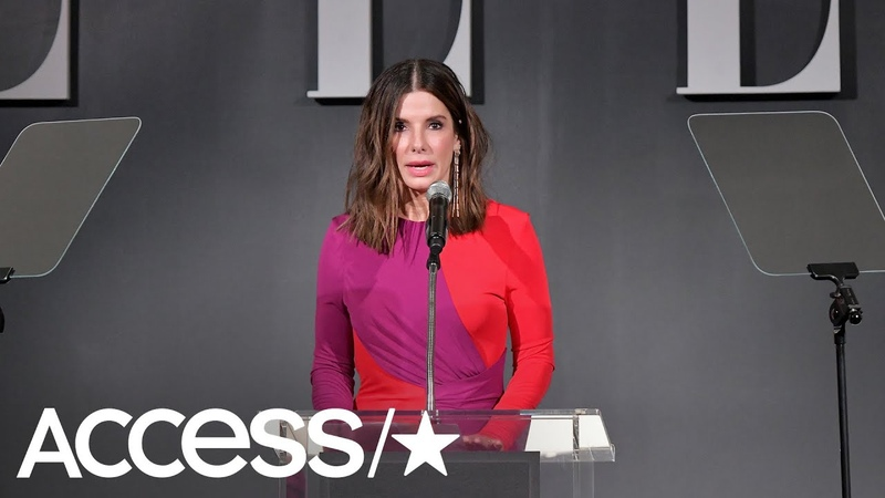 Sandra Bullock Reveals She's Had A 'Crappy Few Weeks' Following The Death Of Her Dad Dogs | Access