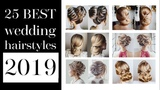 25 best wedding hairstyles 2019 Buns for any length from shot to long hair
