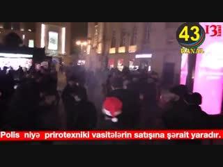 В Баку из-за взрыва пиротехники пострадали 5 человек. Азербайджан Azerbaijan Azerbaycan БАКУ BAKU BAKI Карабах 2019 HD Новый год