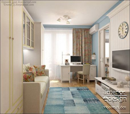 Практичная детская комната (1 фото) - картинка