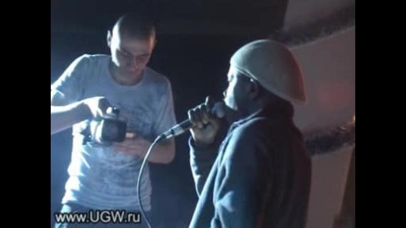 2005.01.13 - Da Budz - live (презентация альбома Шишки, 35mm, Москва)