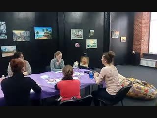 Мастер-класс по масляной живописи от Марины Картининой