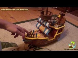 Джейк и пираты Нетландии Корабль Быстрый Jake and the Never Land Pirates Musical Pirate Ship Bucky