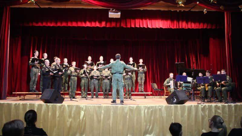 Совместный концерт ВМК студии и «Gaudeamus» 14.12.18 в БГТУ ВОЕНМЕХ