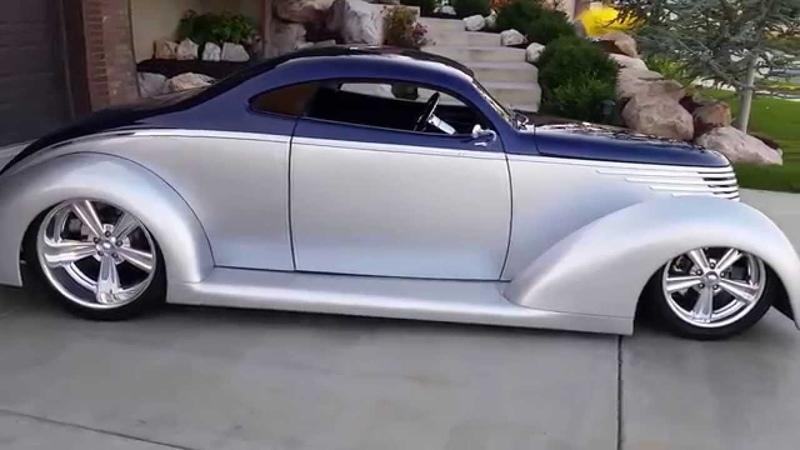1937 Ford OZE Rare 5 Window Hot Rod Custom -SOLD