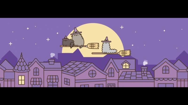 Pusheen the cat - Witchy