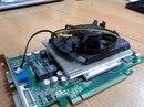 колхоз кулера от CPU на видеокарту