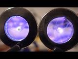 Plasma Vortex in a Magnetic Field, Minecraft Nether Portal