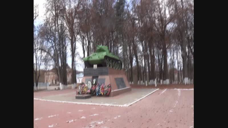 M2U05194 - 22 ноября (чт) 2018 г. Памятник ВОВ. 2-ой. Танк. г. Медынь. Сони фото № 2837-2850.