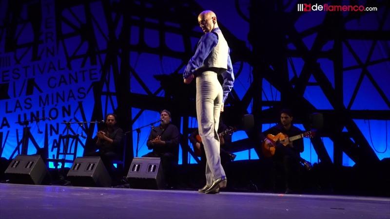 Hugo López tarantos en la Final del Cante de las MInas 2018