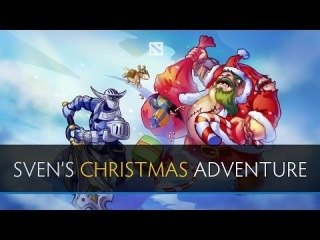 Dota 2 Sven's Christmas Adventure (Full Movie)
