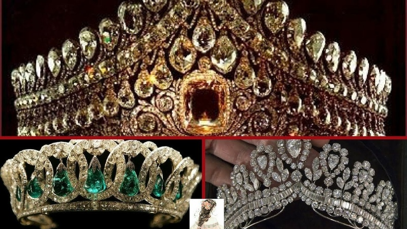 Royal Crown Daimond/Most Expensive Royal Tiaras/Beautiful Royal Diamond And Stones Crowns