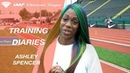 Training Diaries: Ashley Spencer - IAAF Diamond League