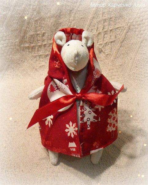 Волшебный новогодний мистер Мышь (5 фото) - картинка