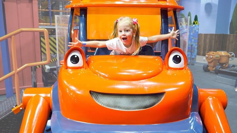 Детская Площадка Паровозик Томас и Боб Строитель в Дубаи Mattel Playground Playtown in Dubai