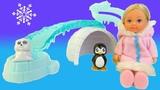 ОБЗОР куклы Эви и друзей Арктики Simba