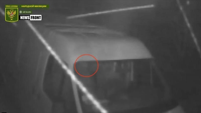 Камера видеонаблюдения жителя Славяносербска зафиксировала обстрел ВСУ