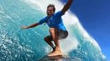 GoPro Kai Lenny Surfs Jaws - WSL 2018