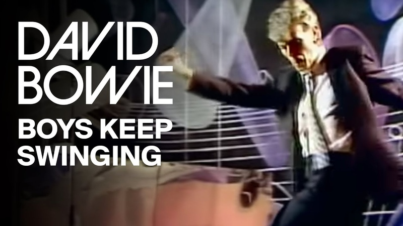 David Bowie - Boys Keep Swinging (Official Video)