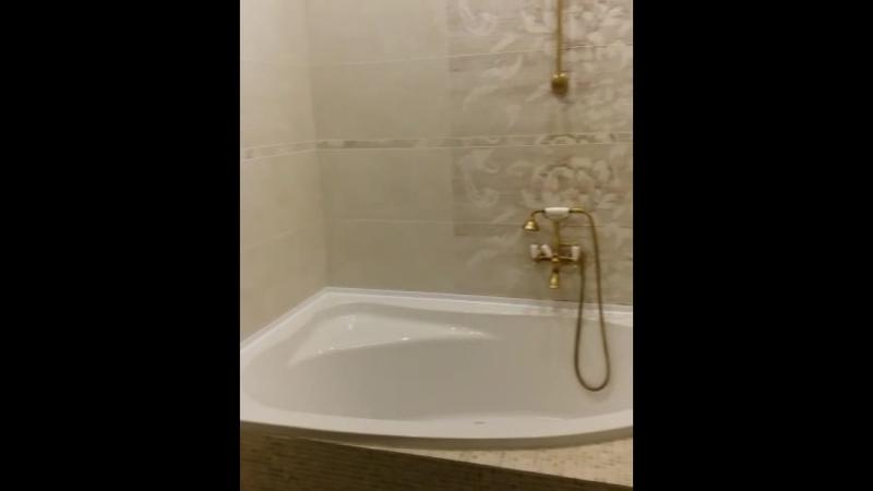 Ванная комната в квартире на Комсомольском
