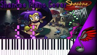 SayMaxWell - Shantae Megamix (Piano Cover by MicroNoize) - Synthesia HD