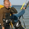 """Wojtek Motylewski on Instagram 2 kites 1 rider bonanza tbt yew kite kiteboarding kitesurfing cabrinha cabrinhateam 2kites kiteloop bonanza"""""""
