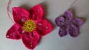 Цветок для ирландского кружева Незабудка. Разбор схемы. Flower for Irish lace.