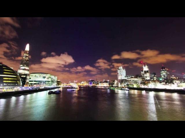 LONDON Day - Night Timelapse